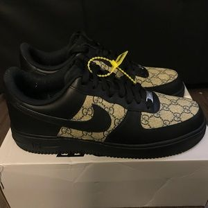 save off best deals on good service Nike Shoes   Air Force One X Gucci Customized Gg Canvass   Poshmark